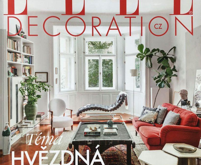 Publikace obrazu v časopisu Elle Decoration (podzim 2020)